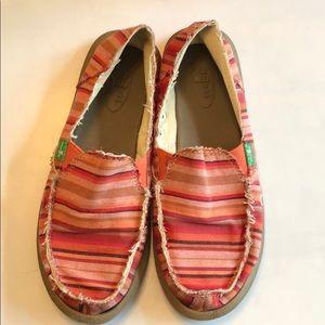 Sonuk Serape Fabric Slip On Shoes